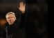 Sir Alex Ferguson waves goodbye