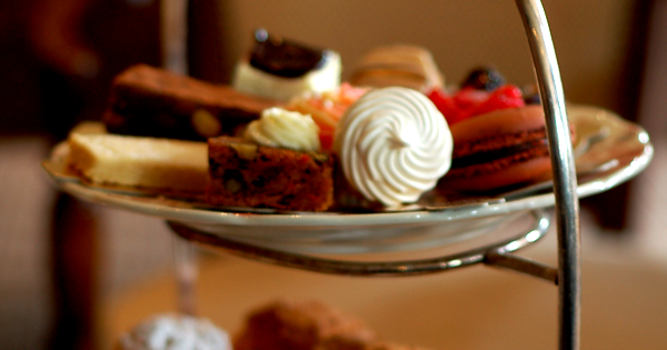 Afternoon tea - a little self indulgence?