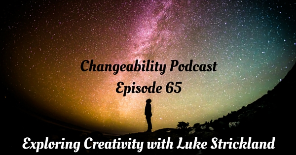 Exploring creativity with Luke Strickland