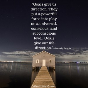Goals give us direction.